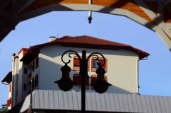 Gramado, Brasilien: Typische Architektur Gramado steht heraus unter anderen Städten für seine bayerische Architektur stockbilder