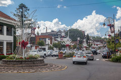 Gramado at Chrismtas Brazil Royalty Free Stock Photography