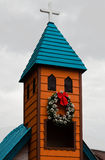 Gramado Christmas Church Brazil Royalty Free Stock Photo