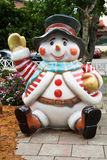 Gramado Christmas Snow Man Brazil Royalty Free Stock Photo