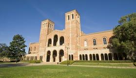 Gramado do terreno da faculdade Imagens de Stock