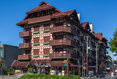 Gramado Half Timber Building Brazil Stock Photography