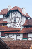 Gramado Half Timber Building Brazil Royalty Free Stock Image
