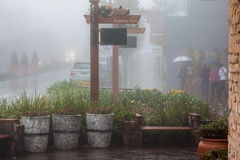 Gramado Under the Rain Brazil Royalty Free Stock Photos
