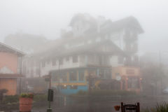 Gramado Under the Rain Brazil Royalty Free Stock Photo