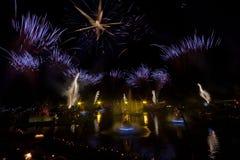 Gramado visar den Natal Luz julen Brasilien Royaltyfri Fotografi