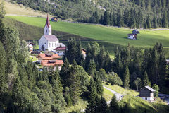 Gramais in Austrian, Alpine village, Gramais, Austrian Royalty Free Stock Photography