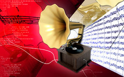 Gramaphone Royalty Free Stock Photos