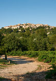 Grambois-Dorf, Provence, Frankreich Stockfotografie