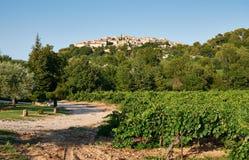Gramboisdorp, de Provence, Frankrijk Stock Foto's