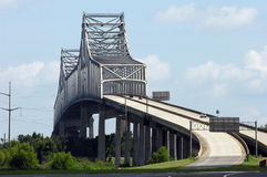 Gramercy Bridge in Louisiana Royalty Free Stock Photos