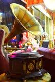 Gramófono viejo Imagen de archivo libre de regalías