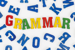 grammaire Image stock