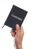 Grammar Book Royalty Free Stock Image