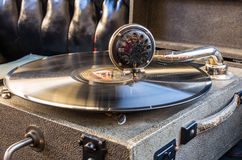 grammofon Royaltyfri Foto