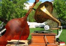 grammofon Royaltyfria Bilder