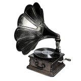 grammofon Royaltyfri Bild