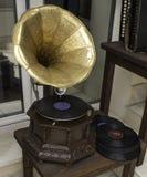 grammofon Arkivbilder