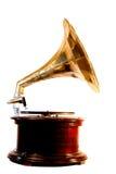grammofon upp wind Arkivbilder
