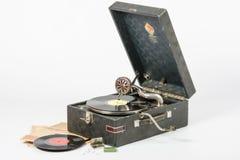 Grammofongrammofonproduktion av den Leningrad växten, nära lögnvisare och rekord Royaltyfria Bilder