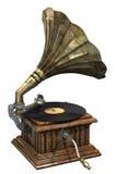 Grammofono Immagine Stock Libera da Diritti
