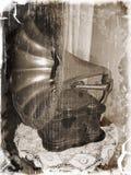Grammofono antico Fotografia Stock Libera da Diritti