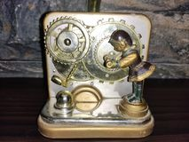 Grammofono artificiale fotografia stock libera da diritti