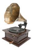 Grammofono dell'oggetto d'antiquariato Immagine Stock Libera da Diritti