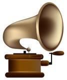 Grammofono di vecchio stile Fotografie Stock Libere da Diritti