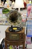 Grammofono vecchio Fotografia Stock