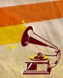Grammofonreklamblad 02 Arkivfoto
