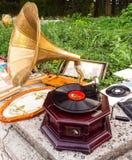 Grammofoon Stock Foto