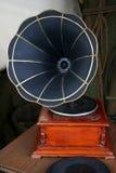 Grammofoon stock afbeelding