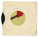 Grammofoonplaat Stock Foto