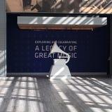 Grammy museum fotografering för bildbyråer