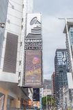 Grammy-Museum in Los Angeles-Stadtzentrum - KALIFORNIEN, USA - 18. M?RZ 2019 lizenzfreie stockfotografie