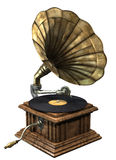 gramofon Zdjęcia Royalty Free