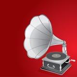 gramofon royalty ilustracja