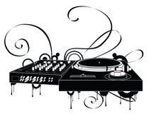 gramofon abstrakcyjne Obrazy Royalty Free