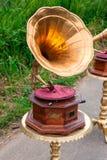 gramofon retro Obrazy Stock