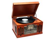 Gramofone do estilo velho fotografia de stock royalty free