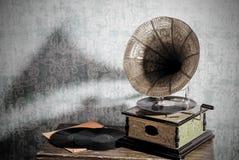 Gramofone velho Imagem de Stock