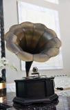 gramophone αναδρομικό Στοκ Εικόνες
