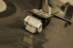 Gramophone βελόνα Στοκ Φωτογραφία