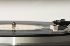 gramophone κεφάλι Στοκ εικόνες με δικαίωμα ελεύθερης χρήσης