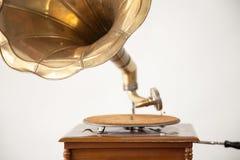 gramophone μίμησης εκλεκτής ποιότητας wtercolor απεικόνισης στοκ εικόνα