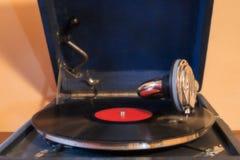 gramophone μίμησης εκλεκτής ποιότητας wtercolor απεικόνισης Στοκ Φωτογραφία