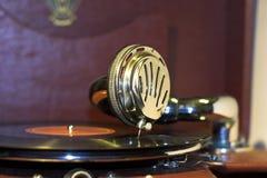gramophone παλαιό Στοκ φωτογραφία με δικαίωμα ελεύθερης χρήσης