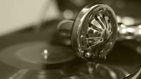 gramophone παλαιό απόθεμα βίντεο