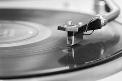 Gramophone στενός επάνω φορέων Στοκ Εικόνες